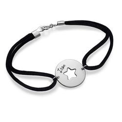 Uitgesneden Ster Armband in 925 Zilver Productfoto