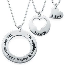 Moeder-Dochter Sieraden – Drie Generaties Kettingen Productfoto