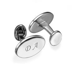 Gepersonaliseerde Manchetknopen - Gepersonaliseerde Juwelen voor Hem Productfoto