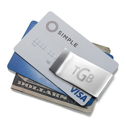 Gepersonaliseerde Geld Clip Productfoto