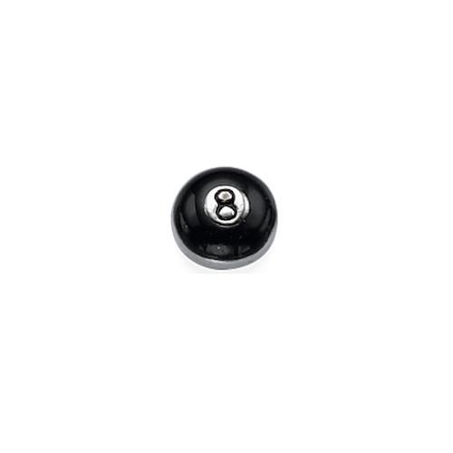 8-ball Bedel voor Floating Locket