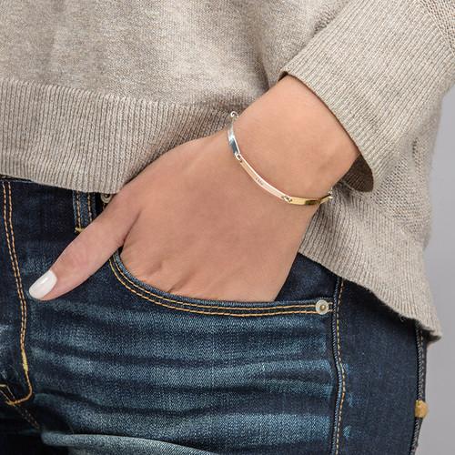 Gepersonaliseerde Bar Armband - 2