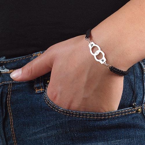 Handboeien Armband aan Koord - 2