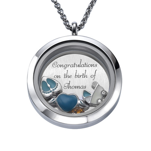 Hoera Een Jongetje! Floating Locket