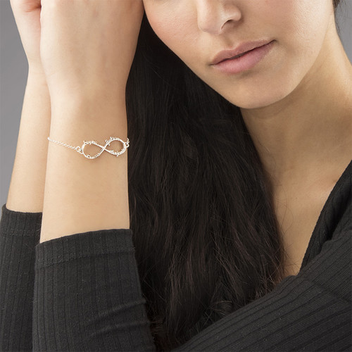 Infinity 4 Namen Armband - 2