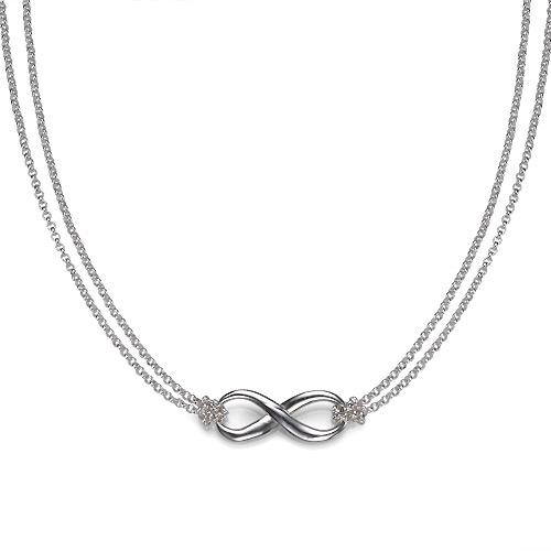 Infinity Hanger in 925 Zilver