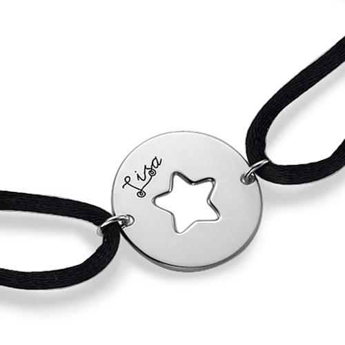 Uitgesneden Ster Armband in 925 Zilver - 1