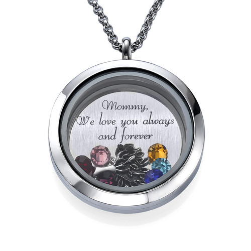 Familie Liefde Floating Locket
