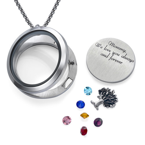 Familie Liefde Floating Locket - 1