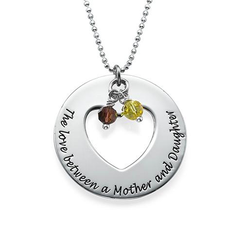 Liefde tussen Moeder & Dochters Kettingen Set