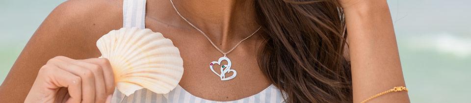 Laat jouw liefde zien met hart kettingen & onze hart collectie