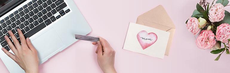 5 redenen om online te winkelen voor Moederdag Geschenken
