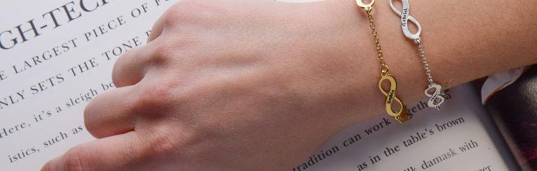 Meervoudige Infinity Armband