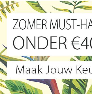 Zomerse Must-Have Sieraden voor minder dan €40! Maak Jouw Keuze!
