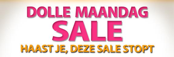 Tot 50% Korting op deze Dolle Maandag Sale