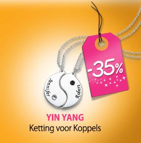 Shop de Yin Yang Ketting
