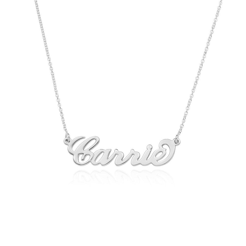 Carrie-Style Navnesmykke i sterling sølv