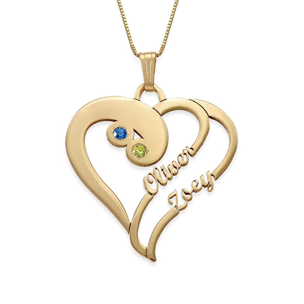 To hjerter for alltid ett i 14K gull - Virkelig din-kolleksjonen