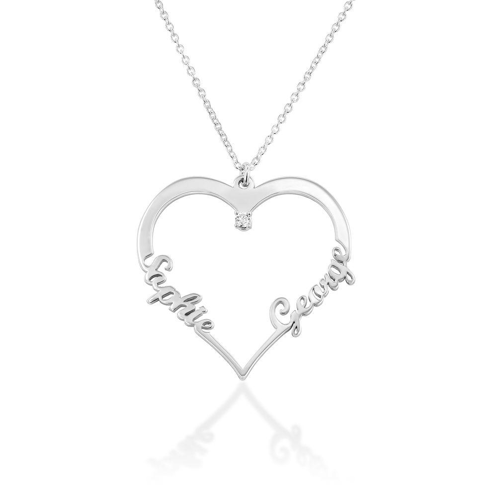 Diamant hjerte smykke - Yours Truly-kolleksjonen