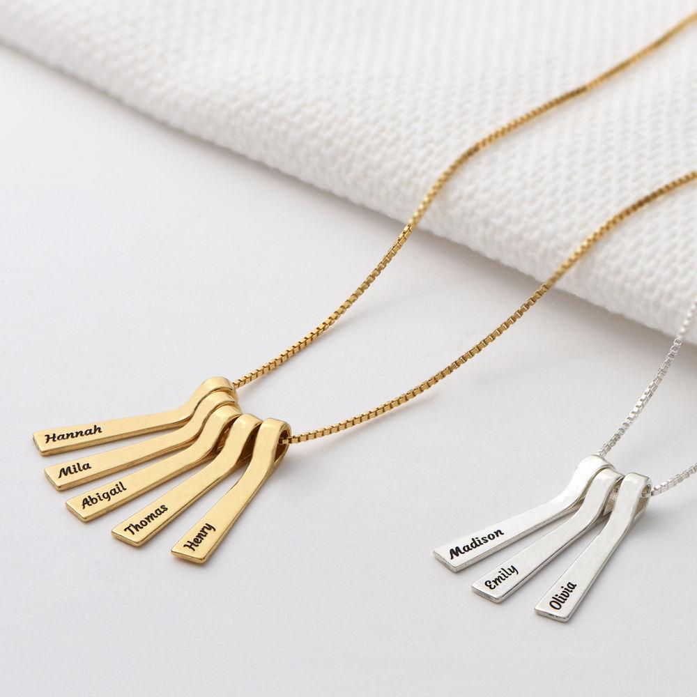 Xylofon stavsmykke halskjede med navn i sterling sølv - 2