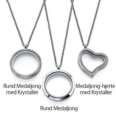 Månedsstein Charms Floating Medaljong - 2