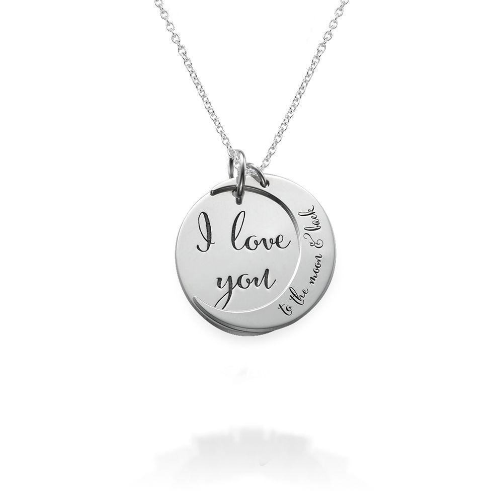 Jeg elsker deg til månen og tilbake -smykket