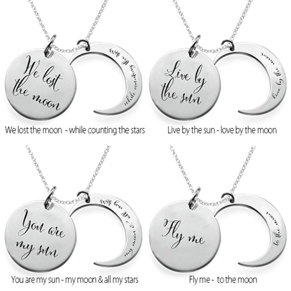 Jeg elsker deg til månen og tilbake -smykket - 2