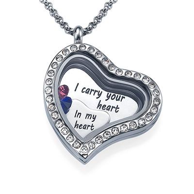 Jeg Bærer Ditt Hjerte Medaljong
