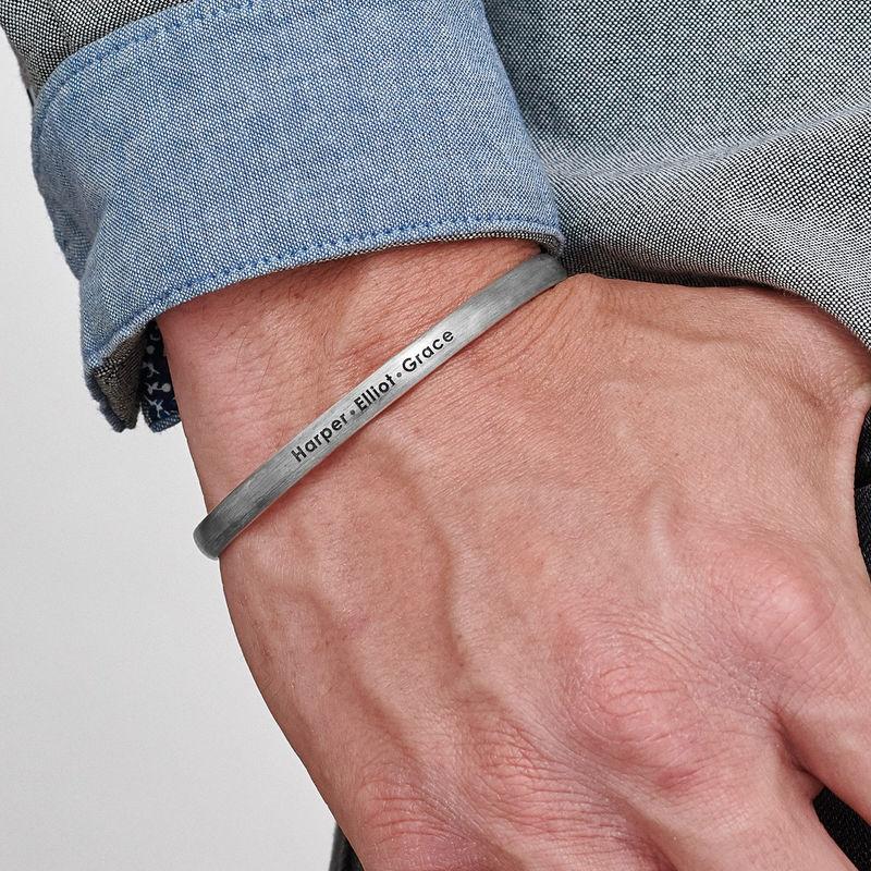 Armring i sølv til menn - 2