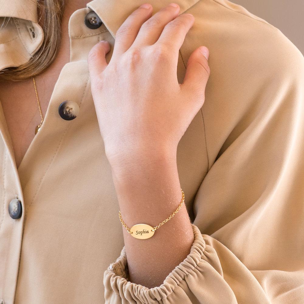 Baby armbånd i 18K gullbelegg - 2