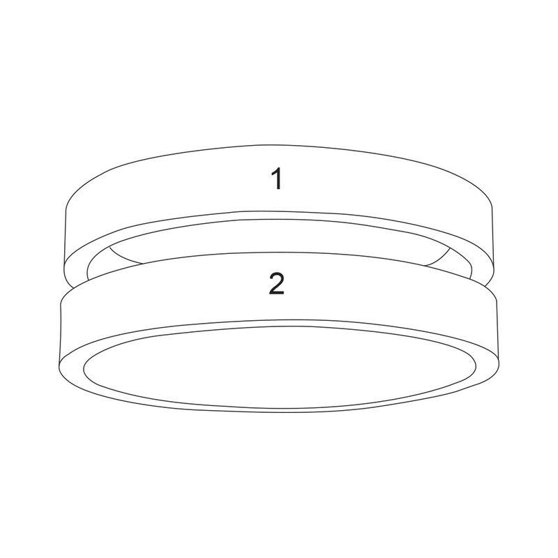 To ringer med navn i rosegullbelegg - 5