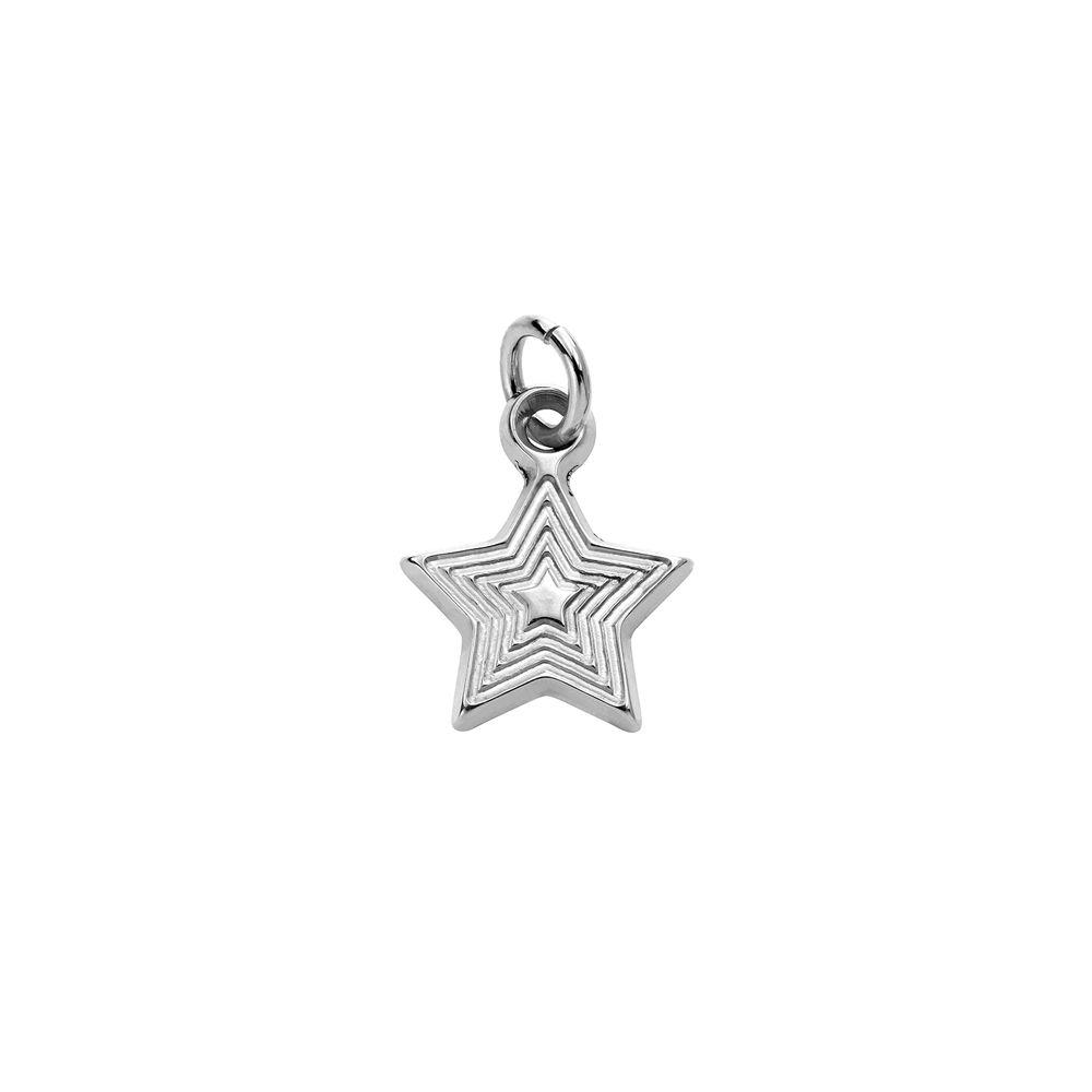Stjerne Charms til Linda Familiesmykke i sølv