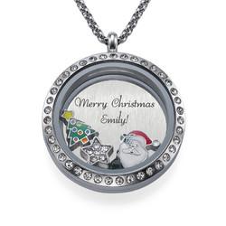 God Jul Floating Medaljong produktbilde