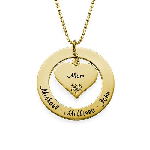 Bestemorsmykke  gullforgylt - 1