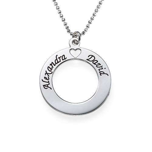 Circle of Love-smykke i sølv