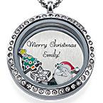 God Jul Floating Medaljong