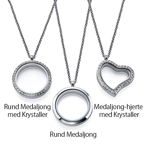 Månedsstein Charms Floating Medaljong - 2