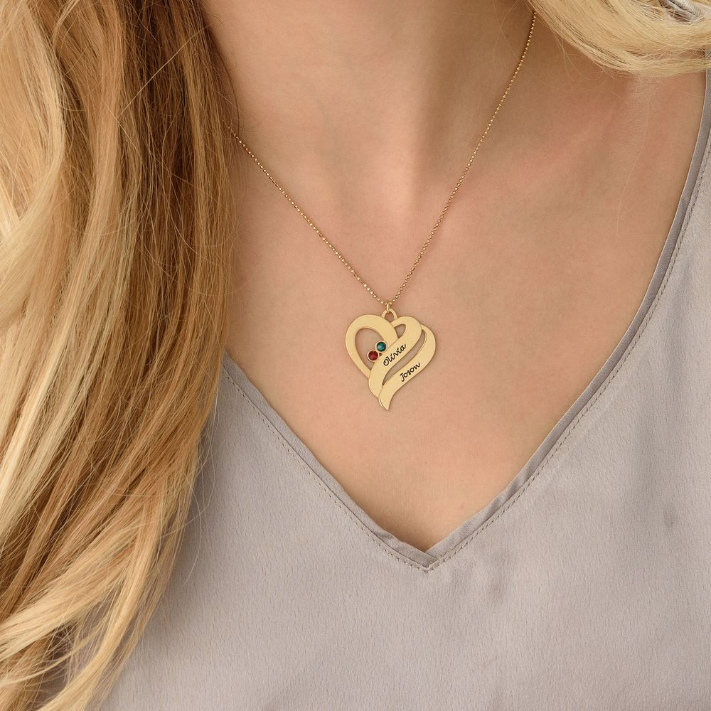 Two Hearts Forever One - gullsmykke - 3