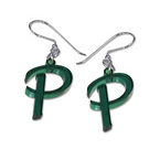 Personalised Initial Colour Earrings