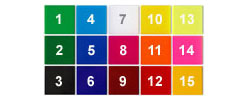 Vinyl Crush colours