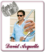 David Arquette Name Ring