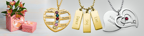 The Perfect Mother's Day gift – Personalised Jewellery