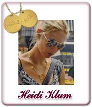 Heidi Klum Name Necklace