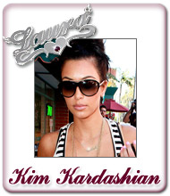 Kim Kardashian Name Jewellery