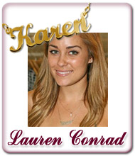 Lauren Conrad Name Jewellery
